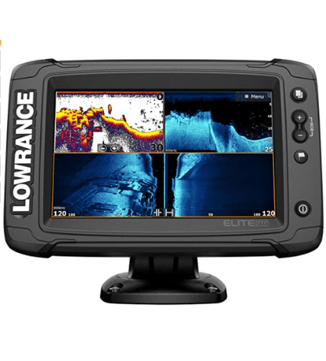 Lowrance Elite-5 Ti Fishfinder Chartplotter with Downscan